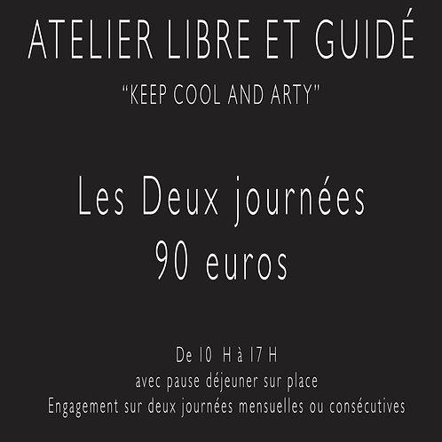 Atelier libre  Biarritz/ Deux journées mensuelles
