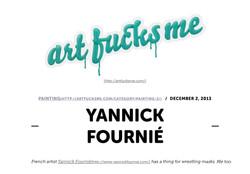ART FUCKS ME / USA / November 2013