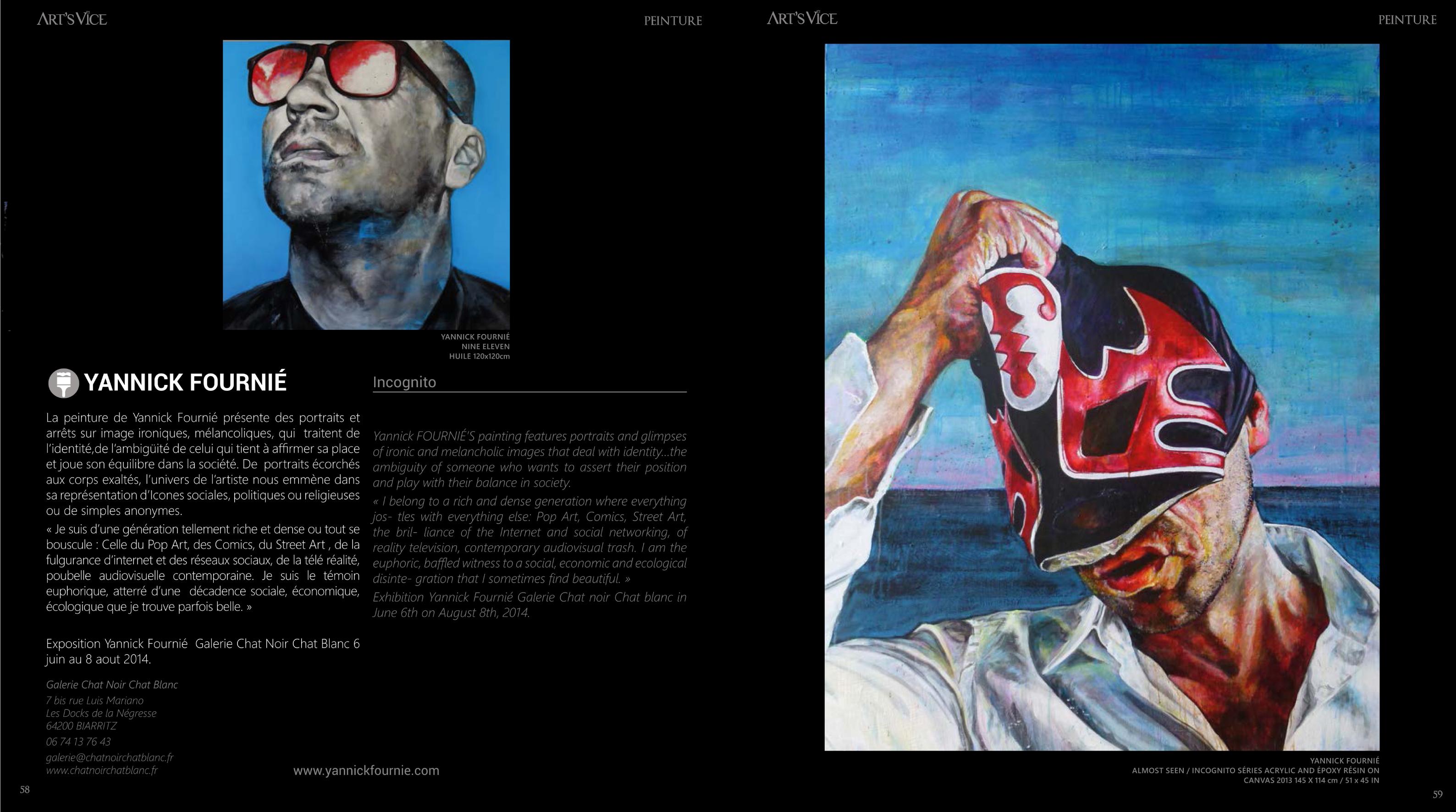 Art Vice /  juin  2014