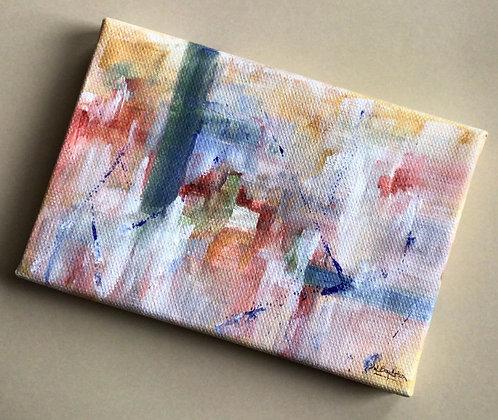 A Grid Small Original Acrylic on Canvas
