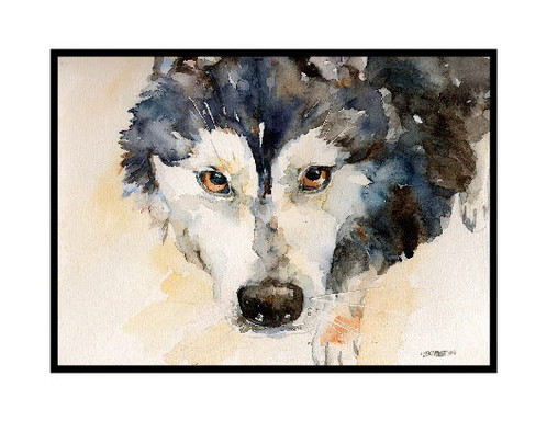 These Wonderful Eyes Of A Siberian Husky Note Cards Come As Set 6 Or 8 Printed On 80 Lb Quality White Card Stock Are Shipped In