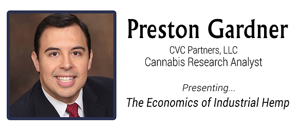 Preston Gardner, Industrial Hemp Economics