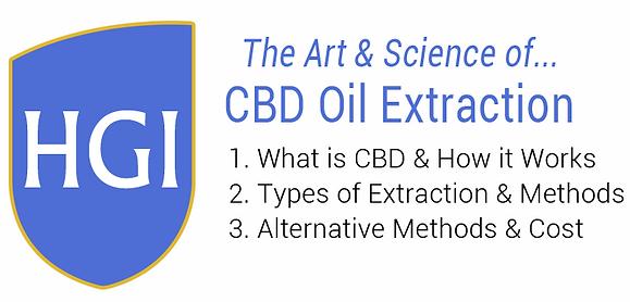 Hemp CBD Oil Extraction