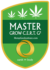 Hemp Geo Institute, LLC., Master Grow CERT G2