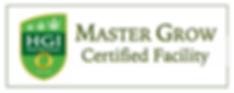 HgI Master Grow Certified Facility Plaque