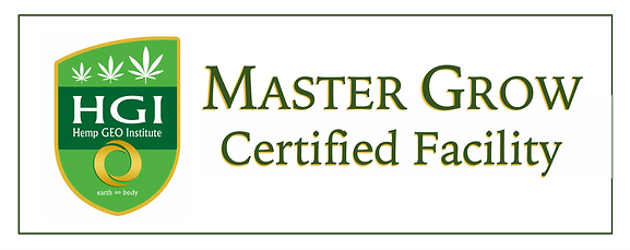 HGI Master Grow Certified Facility Plaque