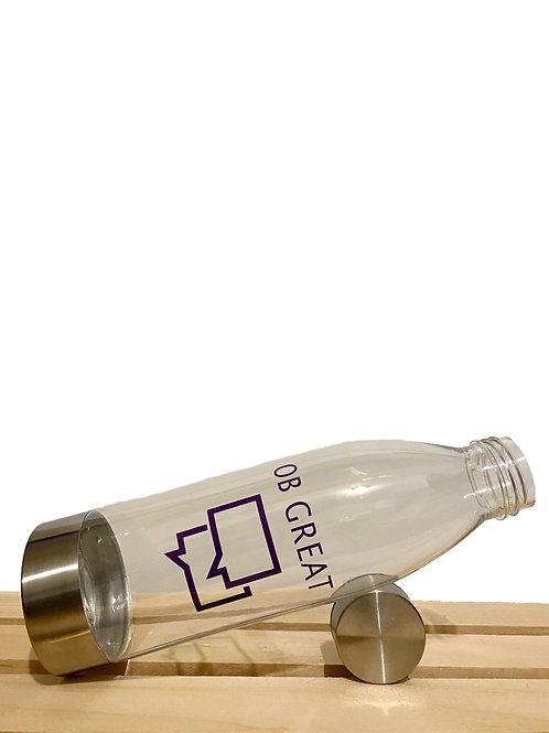 OB Great Clear Water Bottle