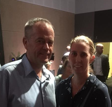 Update: Meeting with the leader of the Opposition Bill Shorten