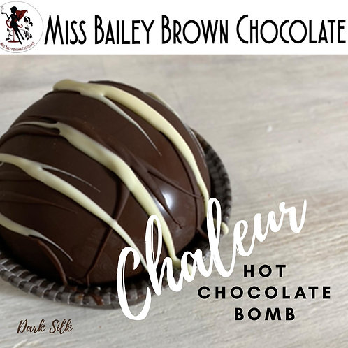 Chaleur Hot Chocolate Single Bomb