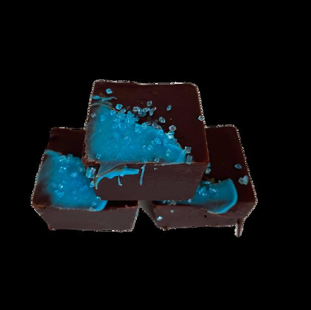 Blueberry Chocolate Pie