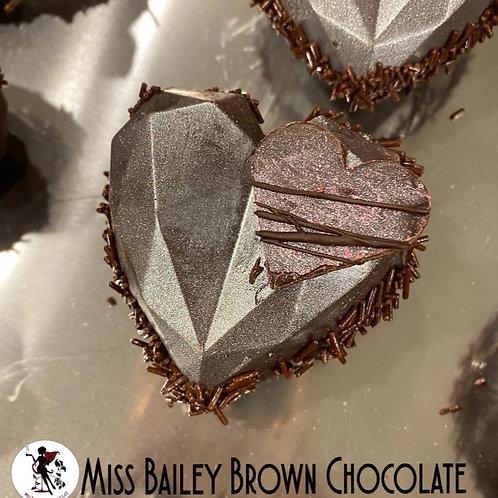 Metallic Heart Hot Chocolate Bomb