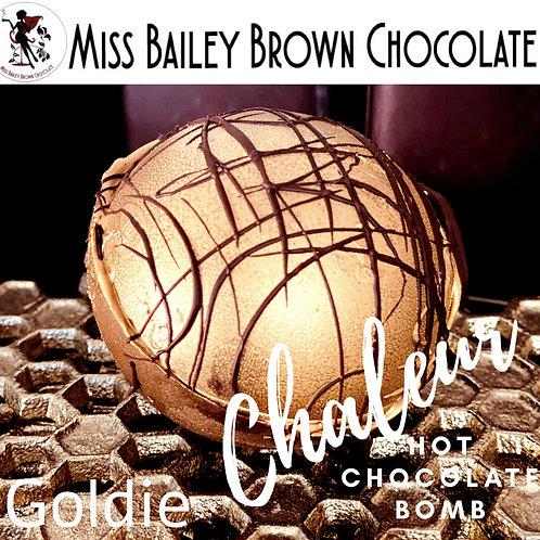 Goldie Hot Chocolate Bomb