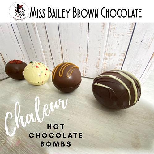 Chaleur Hot Chocolate Bombs