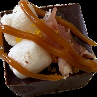 Marshmallow Caramel Prosciutto
