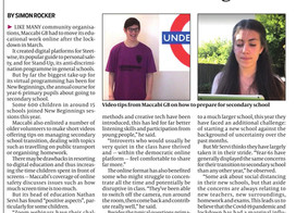 Streetwise in the Jewish Chronicle!