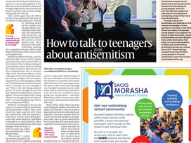 How to talk to teenagers about antisemitism - Jewish Chronicle