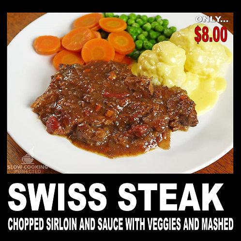 Swiss Steak - with Gravy and Onion