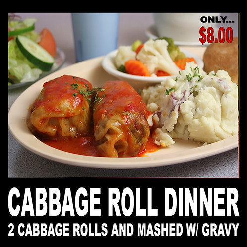 Cabbage Roll Dinner