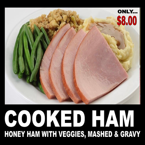 Ham and Mashed