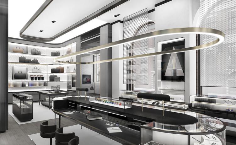 MontBlanc Store concept  STUDIO PARISIEN