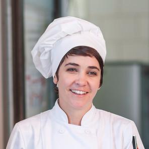 Chef Mujer con Sombrero