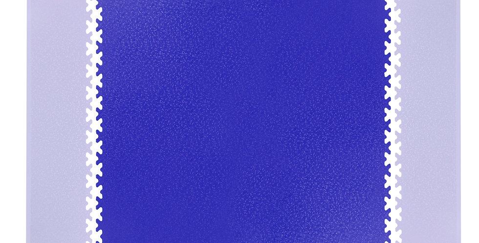 Puzzle zátěžová podložka inSPORTline Simple 1 ks modrá
