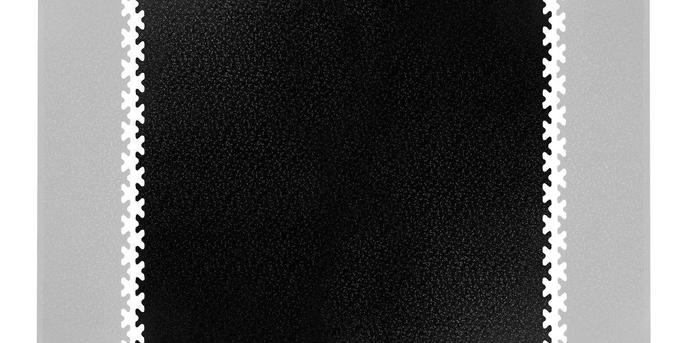 Puzzle zátěžová podložka inSPORTline Simple 1 ks černá