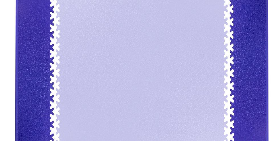 Postranní nájezd pro podložku Simple 2ks modrý
