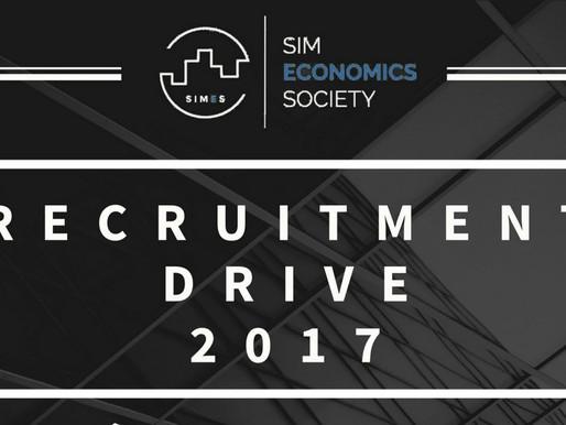 Recruitment Drive 2017