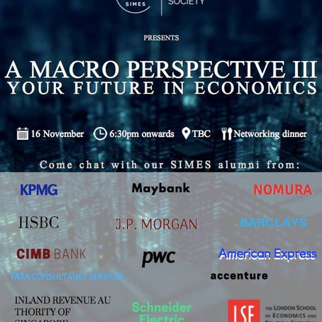 Macro Perspective III: Your Future in Economics (2018)