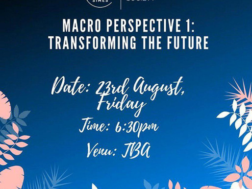 Macro Perspective I: Transforming the Future (2019)