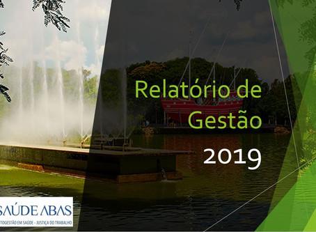 Relatório de Gestão 2019