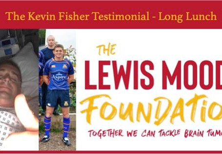 Kevin Fisher Testimonial Long Lunch - Sunday 26 January