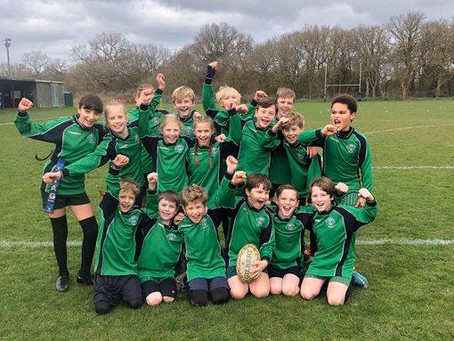 Primary Schools Tag Rugby Core Values Festival