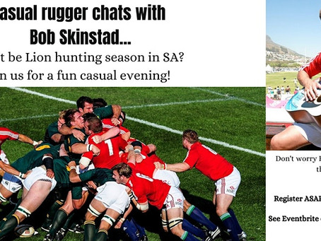 Casual rugger chats with Bob Skinstad - 1 July 2021