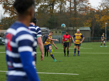 Ex-Players enjoy excellent 1st XV victory over league leaders