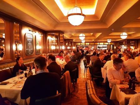 Smith + Wollensky + Sir Gareth Edwards = tremendous 2019 City Lunch