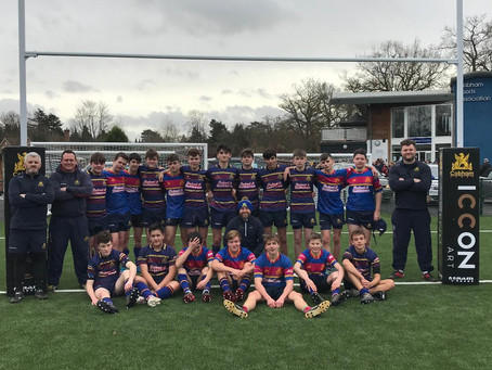 Under 15s continue to enjoying that winning feeling