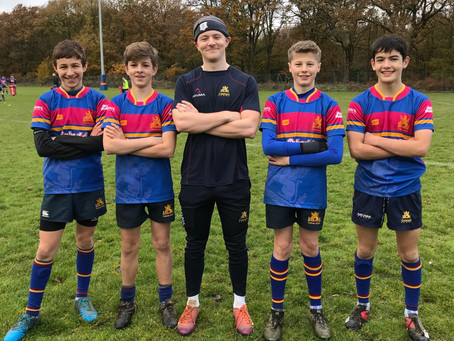 Captain Saunders passes on his advice to Under 15s