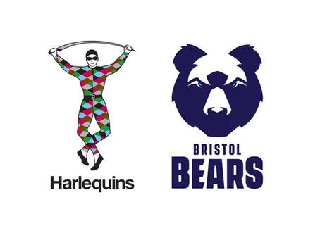 Quins Vs Bristol in Premiership Shield - POSTPONED