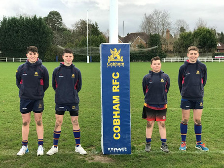 5 players selected for Quins DPP
