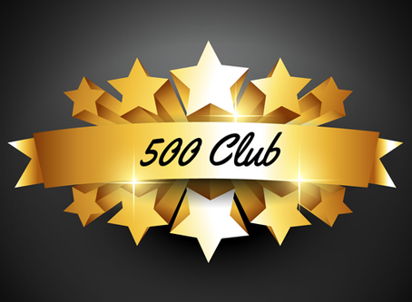500 Club - July and August 2020 winners