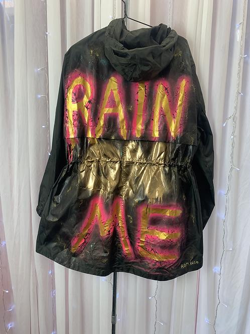Dark Khaki, Light Weight Showerproof Ladies Parka (large)
