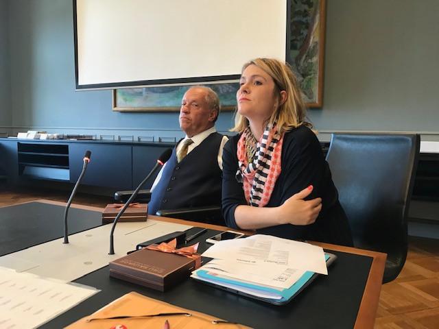Nationalrat Christian Lohr, Co-Vizepräsident Pro Infirmis, Nationalrätin Kathrin Bertschy, Präsidentin Verein Modell F