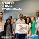 IPW team - We stand with refugees campai