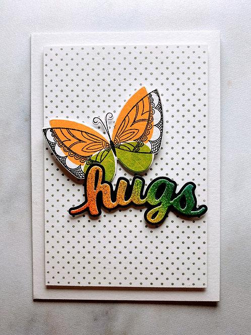 Dotty Butterfly Card