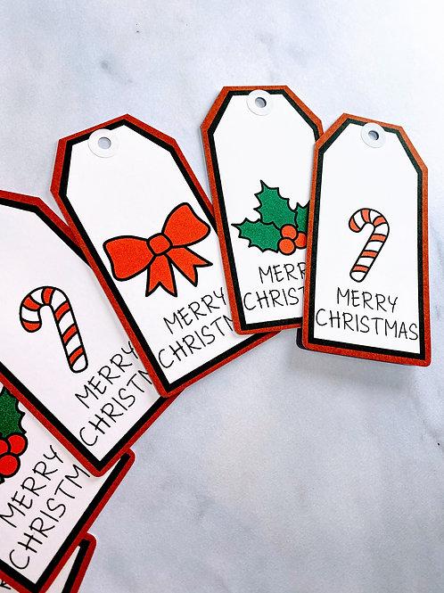 Christmas Icon Gift Tags