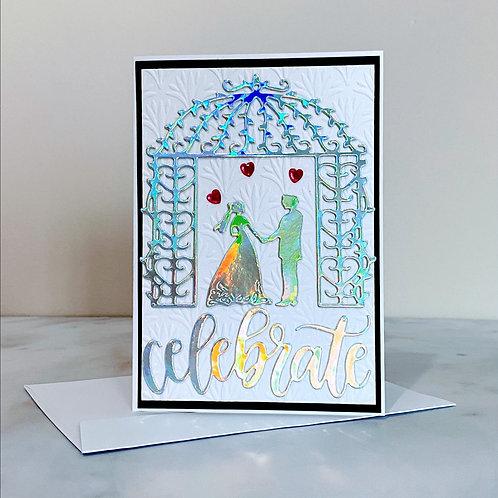 Celebrate Bride & Groom Card