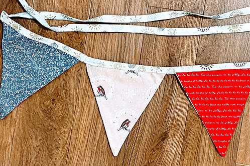 Bunting - Robins and Holly
