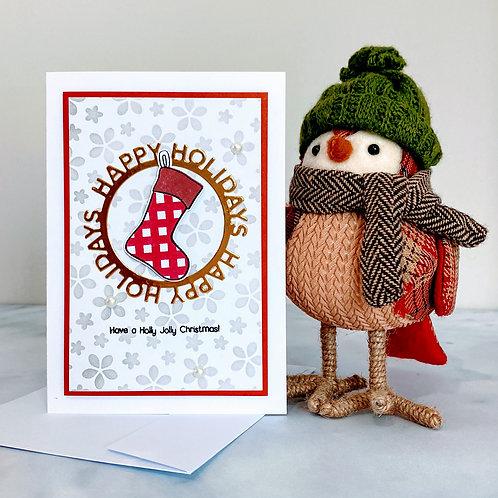 Christmas Stockings Cards